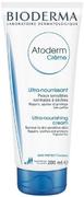 Биодерма Atoderm Creme крем ультрапитательный для нормальной и сухой кожи