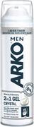Арко Men Crystal с Белой Глиной гель для бритья и умывания чувствительной кожи 2 в 1