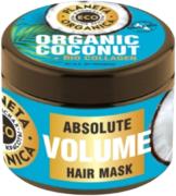 Планета Органика Eco Organic Coconut+Bio Collagen Абсолютный Объем маска для волос