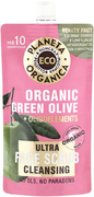 Планета Органика Eco Organic Green Olive+Oligoelements Очищающий скраб для лица