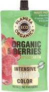 Планета Органика Eco Organic 5 Berries+Phytokeratin Color шампунь для яркости цвета волос интенсивный