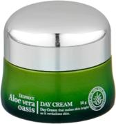 Deoproce Aloe Vera Oasis Day Cream крем для лица дневной питательный с алоэ вера