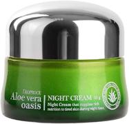 Deoproce Aloe Vera Oasis Night Cream крем для лица ночной питательный с алоэ вера