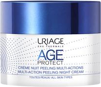 Урьяж Age Protect Creme Nuit Peeling Multi-Actions крем-пилинг для лица ночной многофункциональный