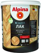 Alpina Аква лак для паркета и полов