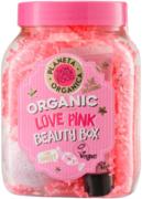 Планета Органика Skin Super Food Love Pink Beauty Box набор (бомбочка для ванн + маска для лица + гель для душа)