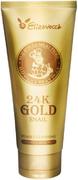 Elizavecca 24k Gold Snail Cleansing Foam пенка для умывания с муцином улитки и золотом