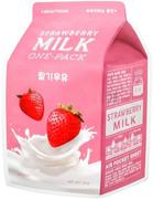 Apieu Strawberry Milk One-Pack маска тканевая для лица с экстрактом клубники