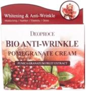 Deoproce Bio Anti-Wrinkle Pomegranate Cream био крем против морщин с экстрактом граната