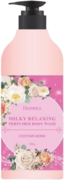 Deoproce Milky Relaxing Perfumed Body Wash Cotton Rose гель для душа
