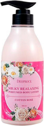 Deoproce Milky Relaxing Perfumed Body Lotion Cotton Rose лосьон для тела