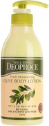Deoproce Well-Being Fresh Moisturizing Olive Body Lotion лосьон для тела с экстрактом оливы