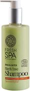 Natura Siberica Fresh SPA Bania Detox Русская Береза био-шампунь для всех типов волос укрепляющий