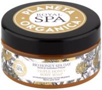 Планета Органика Royal Spa Bio Honey Spa Day мыло для тела антиоксидантное густое медовое