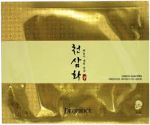 Deoproce Cheon Sam Hwa Oriental Hydro Gel Mask маска для лица гидрогелевая на основе корня женшеня