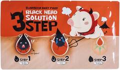 Elizavecca Black Head Solution 3 Step трехступенчатый набор патчей для удаления черных точек