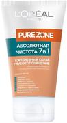 Лореаль Pure Zone Абсолютная Чистота скраб ежедневный глубокое очищение 7 в 1