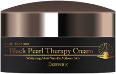 Deoproce Black Pearl Therapy Cream крем антивозрастной с черным жемчугом и золотом