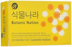 CJ Lion Botanical Nation Camomile Moisture мыло туалетное с экстрактом ромашки