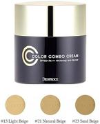 Deoproce Color Combo Cream SPF49 CC крем антивозрастной тон 21