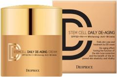 Deoproce Stem Cell Daily De-Aging Cream SPF50 BB крем маскирующий антивозрастной тон 21