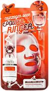 Elizavecca Collagen Deep Power Ringer Mask Pack омолаживающая тканевая маска для лица с коллагеном