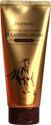 Deoproce Horse Oil Hyalurone Cleansing Foam пенка для умывания с гиалуроновой кислотой и лошадиным жиром
