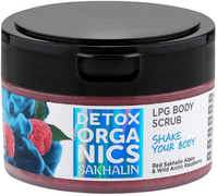 Natura Siberica Detox Organics Sakhalin LPG Body Scrub Shake Your Body скраб для тела моделирующий