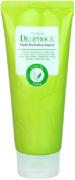 Deoproce Premium Green Tea Peeling Vegetal пилинг-скатка на основе зеленого чая