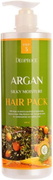 Deoproce Argan Silky Moisture Hair Pack маска для волос с аргановым маслом