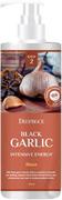 Deoproce Rinse Black Garlic Intensive Energy бальзам интенсивный от выпадения волос с черным чесноком