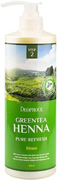 Deoproce Green Tea Henna Pure Refresh Rinse бальзам для волос с зеленым чаем и хной