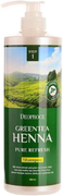Deoproce Green Tea Henna Pure Refresh Shampoo шампунь для волос с зеленым чаем и хной