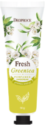 Deoproce Fresh Green Tea Perfumed Hand Cream крем питательный для рук с зеленым чаем