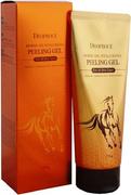 Deoproce Horse Oil Hyalurone Peeling Gel пилинг на основе лошадиного жира