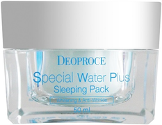Deoproce Special Water Plus маска для лица ночная глубоко увлажняющая
