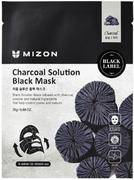 Mizon Charcoal Solution Black Mask маска тканевая для лица с древесным углем