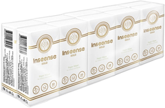Inseense Gold бумажные платочки без аромата