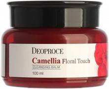 Deoproce Camellia Floral Touch Cleansing Balm бальзам очищающий для снятия макияжа