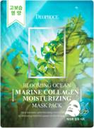 Deoproce Blooming Marine Collagen Moisturizing Mask Pack тканевые маски с морским коллагеном