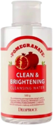 Deoproce Clean & Brightening Pomegranate Cleansing Water вода очищающая с экстрактом граната