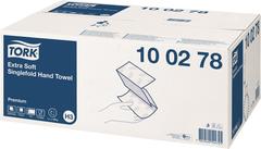 Tork Premium H3 полотенца бумажные листовые ZZ и C-сложения ультрамягкие