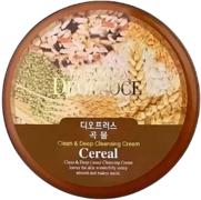 Deoproce Clean & Deep Cereal Cleansing Cream крем для лица очищающий зерновой