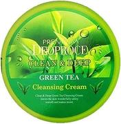 Deoproce Clean & Deep Green Tea Cleansing Cream крем для лица очищающий с экстрактом зеленого чая