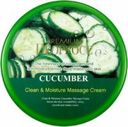 Deoproce Clean & Moisture Cucumber Massage Cream крем массажный для лица с экстрактом огурца