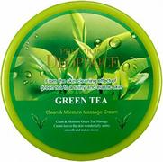 Deoproce Clean & Moisture Green Tea Massage Cream крем массажный с экстрактом зеленого чая