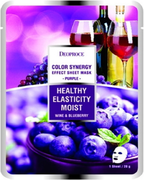 Deoproce Color Synergy Purple Healty Elasticity Moist маска тканевая на основе черники и красного винограда