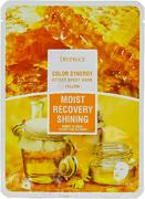 Deoproce Color Synergy Yellow Moist Recovery Shining маска тканевая на основе фильтрата улитки и меда