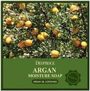 Deoproce Argan Moisture Soap мыло с аргановым маслом