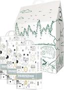 Inseense V5S/Лесная Сказка набор (подгузники-трусики + картонный домик+ восковые мелки)
